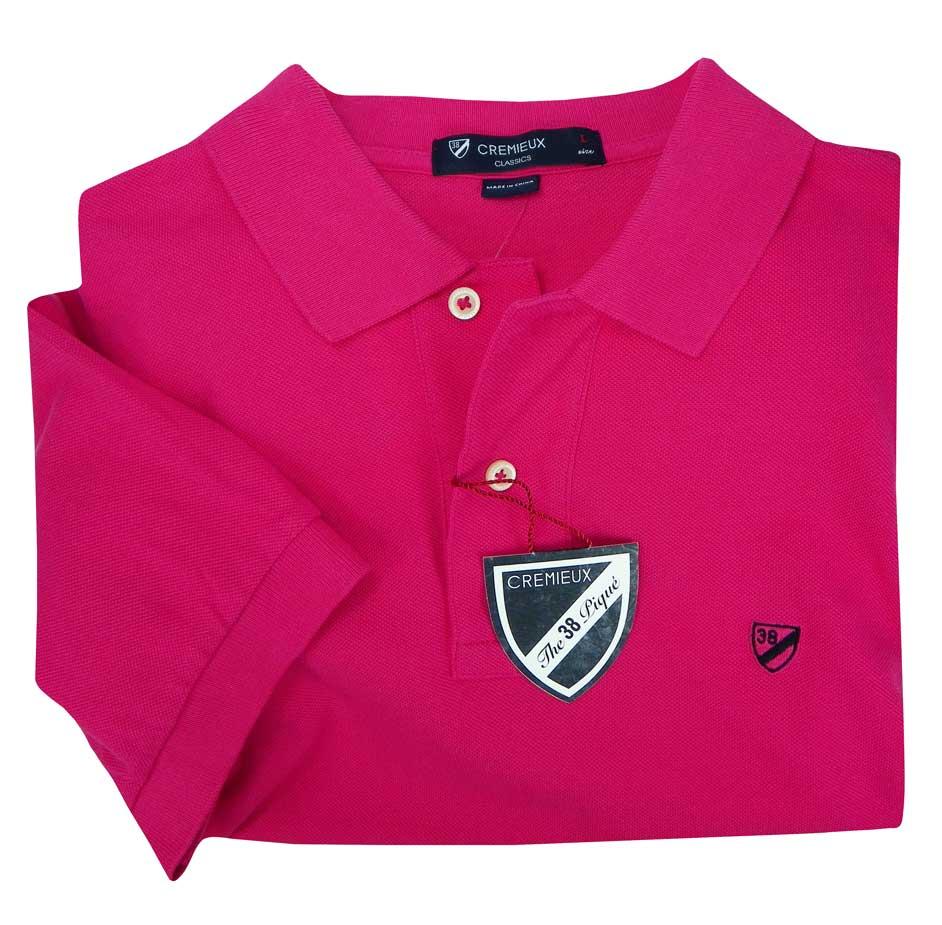 Hot Pink Mens Polo Shirt