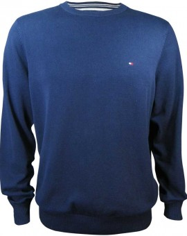 tommy hilfiger sweater blue for men