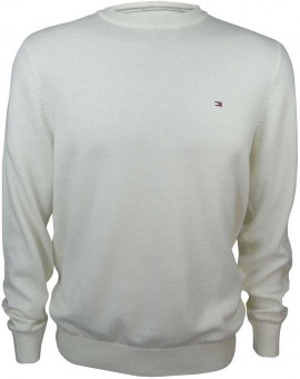 tommy hilfiger sweater ivory for men